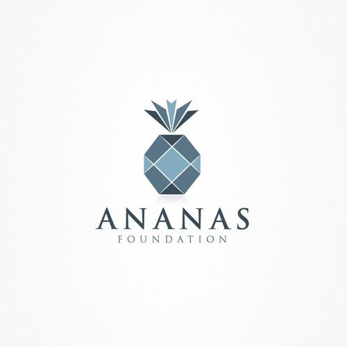 Pineapple Logo For Ananas Foundation