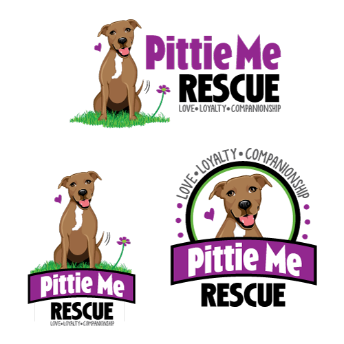 Create a logo that promotes a positive image of pit bulls and attracts people to support our cause.