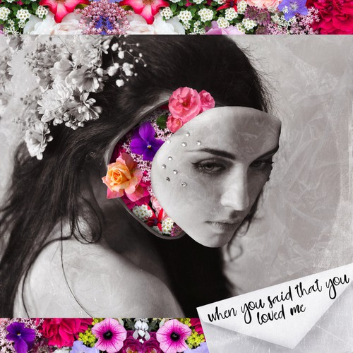 """""""When You Said That You Loved Me"""" Album Cover Design"""