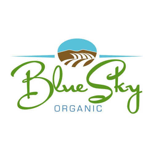 New logo proposal for Blue Sky Organics