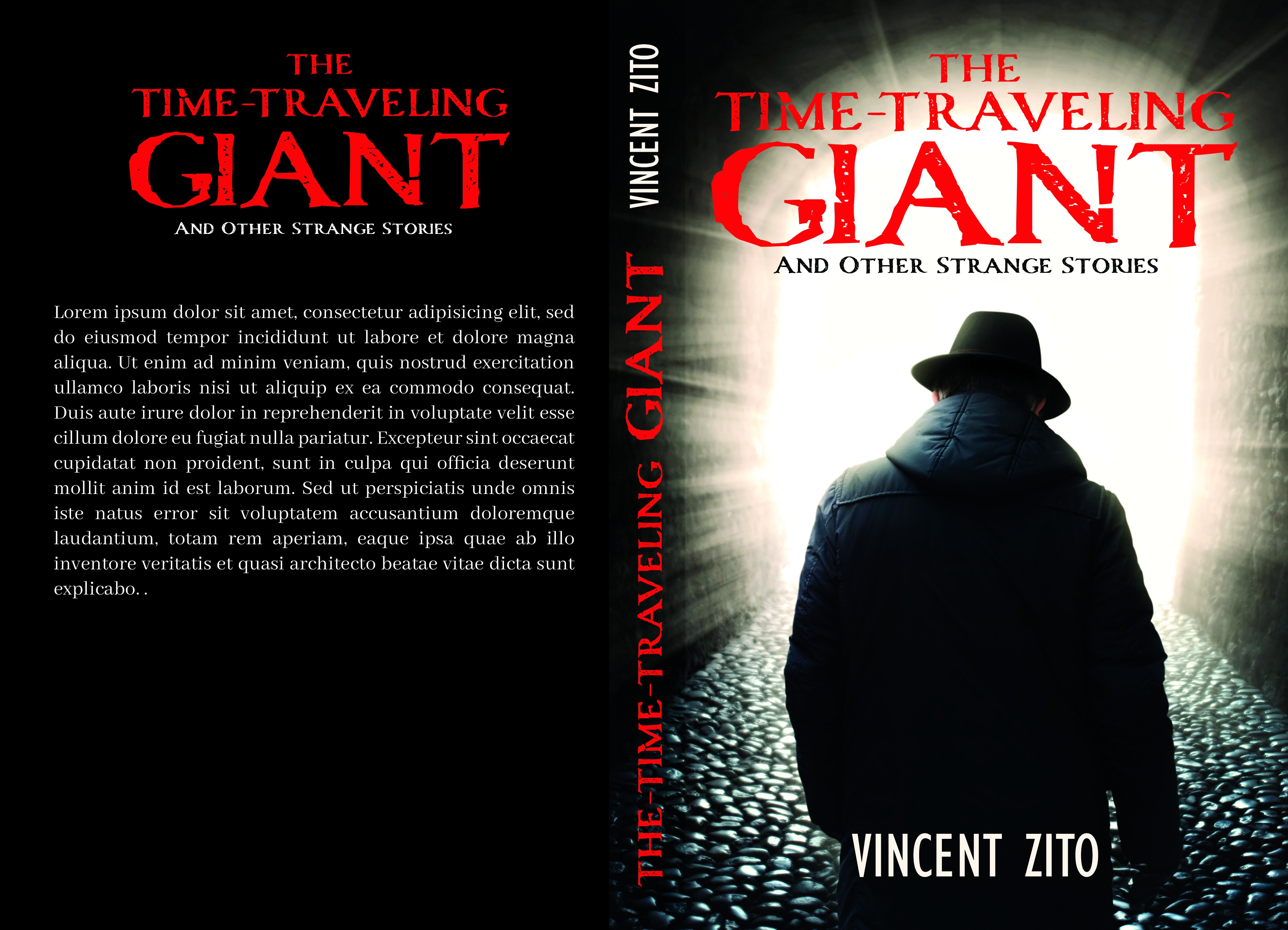 Debut author needs eye catching cover design for collection of Supernatural Stories!