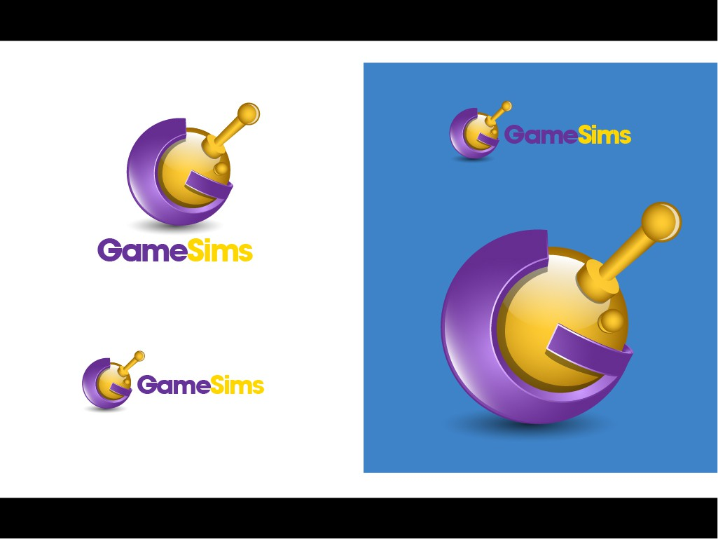 Create the next logo for GameSims