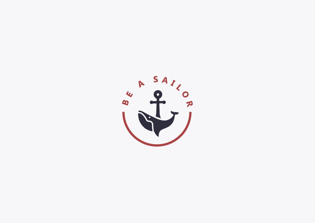 """need a logo for a nautical e-shop called """"Be a Sailor"""""""