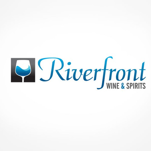 Help Riverfront Wine & Spirits with a new logo