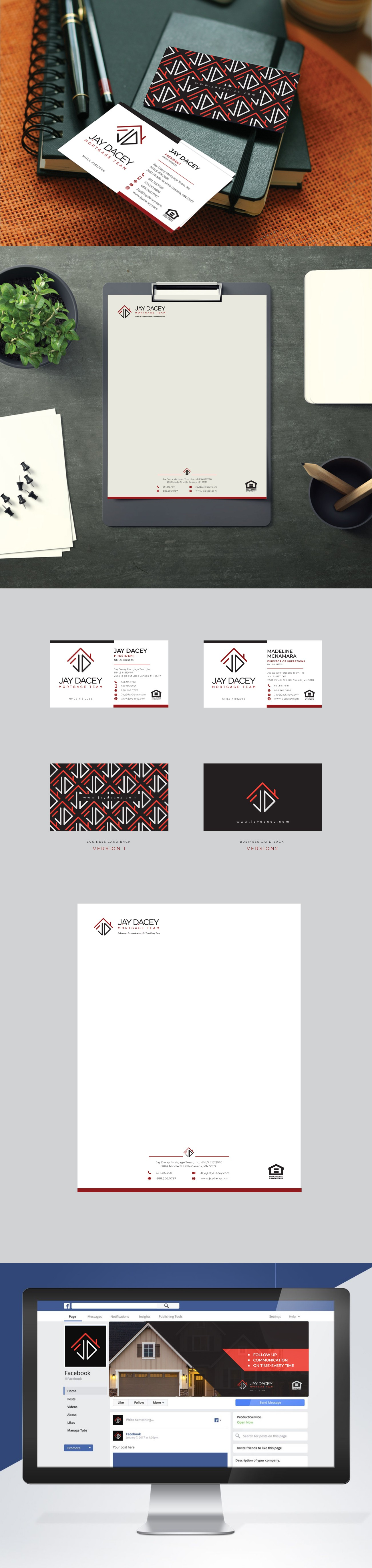 Marketing collateral for a mortgage company