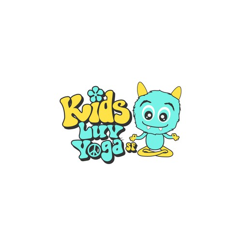 Logo Kids Luv Yoga