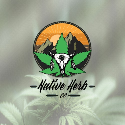 Logo for a cannabis selling brand