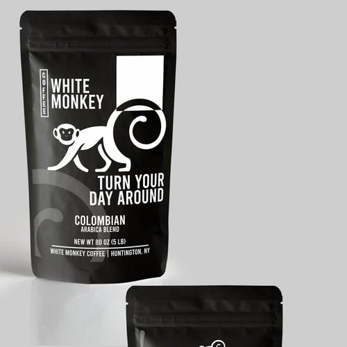 White monkey coffe