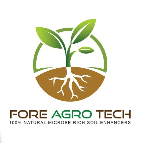 FORE Agro-tech logo and business card
