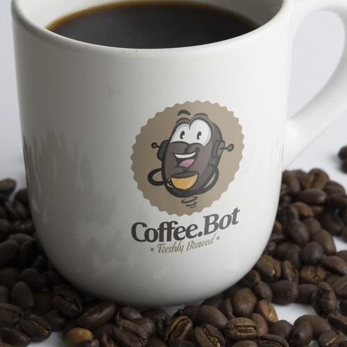 Logo Design for Coffee.Bot