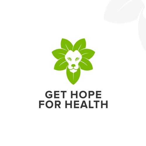 FUN AND CLEVER LOGO FOR GET HOPE FOR HEALTH