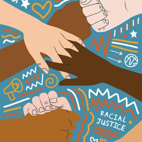 Racial Justice Poster