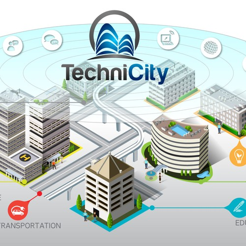 TechniCity graphic