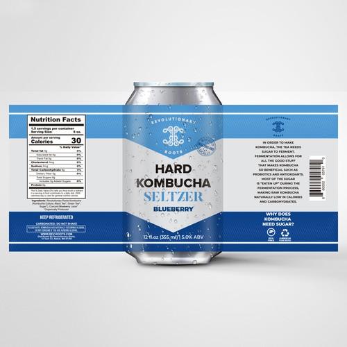 Hard Kombucha Seltzer
