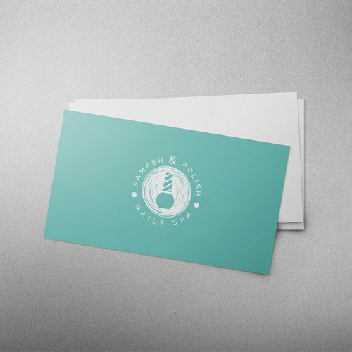 Create a simple & sleek logo & business card for a Nails SPA.