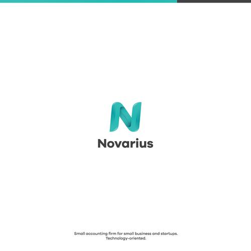 Beautiful letter/logo for Novarius