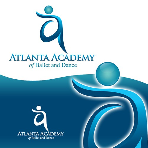 Create the next logo for Atlanta Academy of Ballet and Dance
