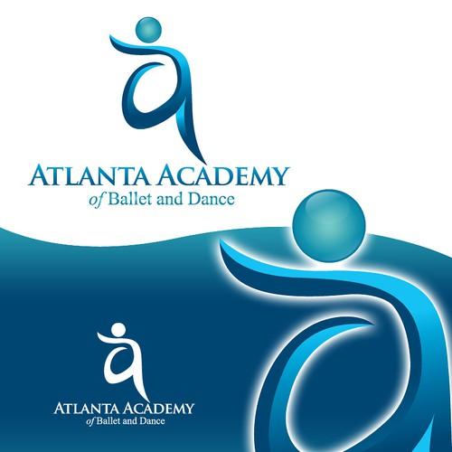 Create the next logo for Atlanta Academy of Ballet and Dance