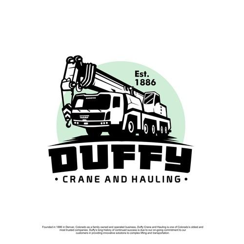 Crane and heavy haul company needs a new powerful logo.
