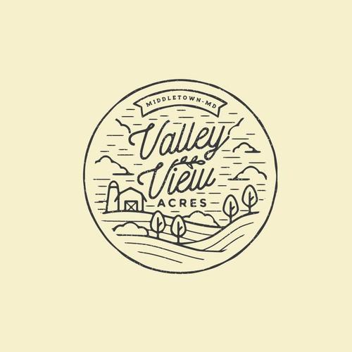 Valley View Acres Logo
