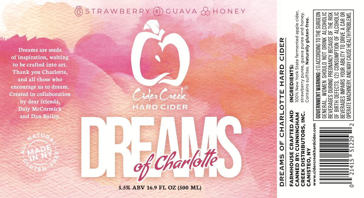 Dreams of Charlotte Bottle Label