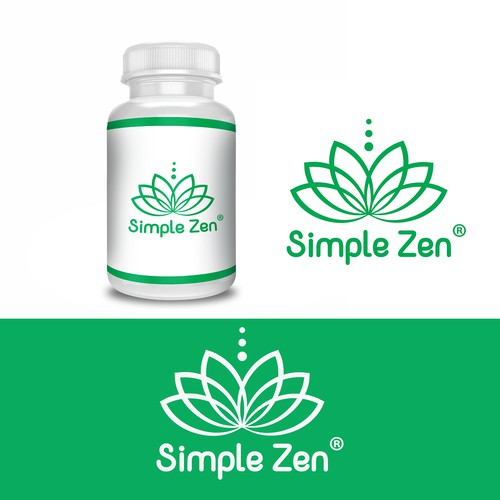 Logo concept for Simple Zen