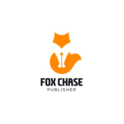 Negative space for Fox Chase Books.