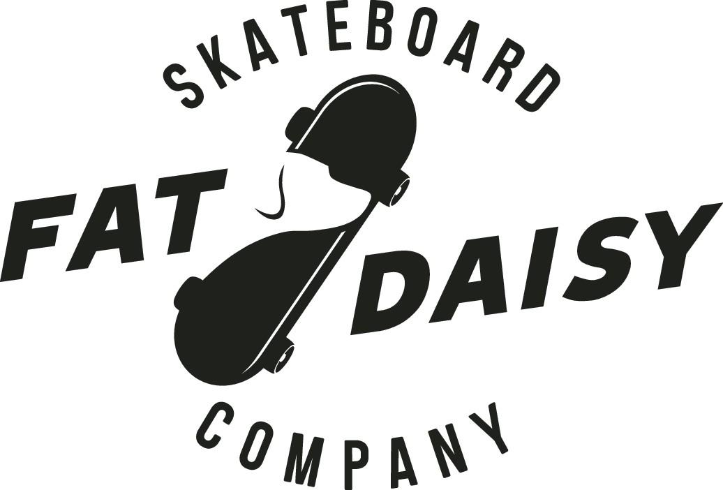 Fat Daisy Skateboard Company Website, and logo Design
