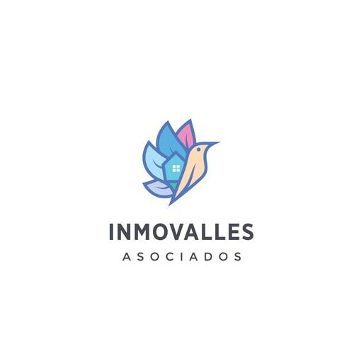Inmovalles Asociados Logo Design