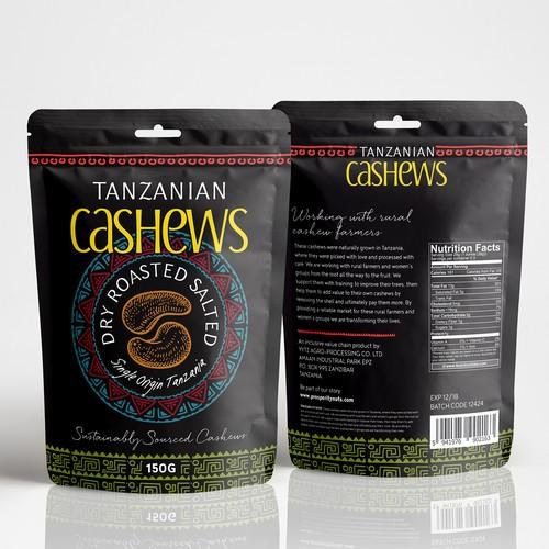 Cashews pouch