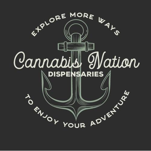 Cannabis Dispensary and Farm Logo