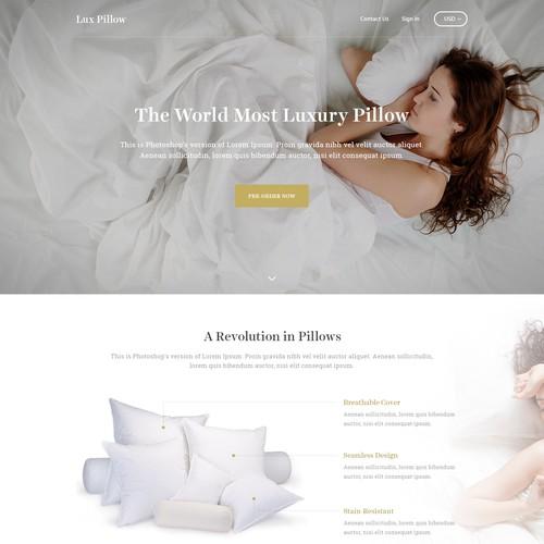 Lux Pillow - Website