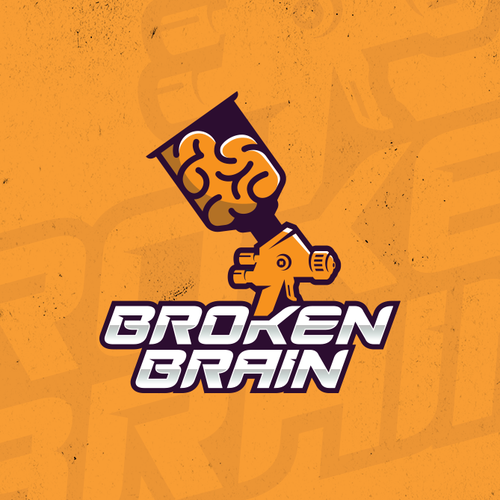 Broken Brain Logo