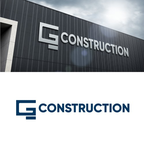 Iconic modern Logo for a concrete construction company