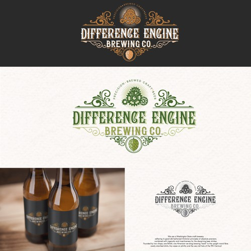 Logo For: Differnence Engine Brewing Co.