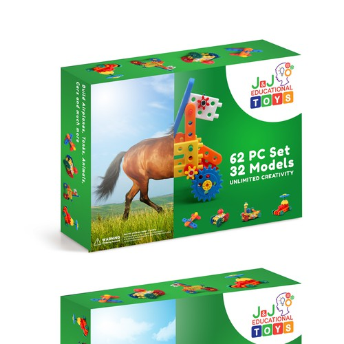 Package Design for J & J Educational Toys