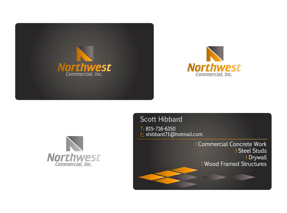 stationery for Northwest Commercial, Inc.