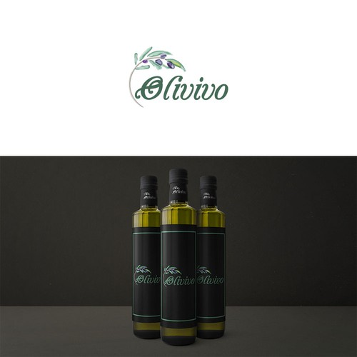 Logo for olive oil