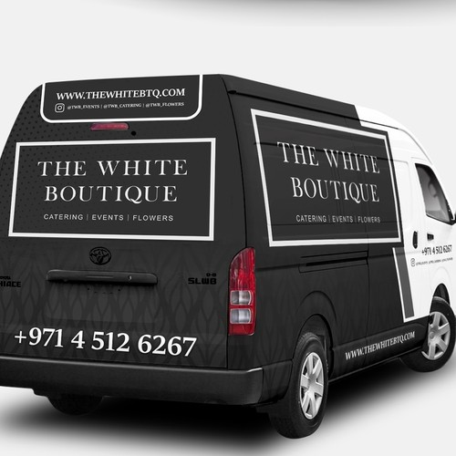 The White Boutique - Vehicle Branding