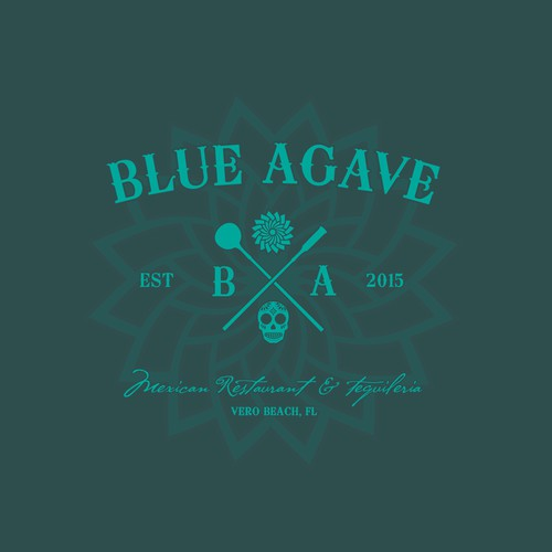 Blue Agave, logo needed for authentic taco tequila bar and restaurant
