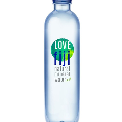 Packaging and label design for premium water