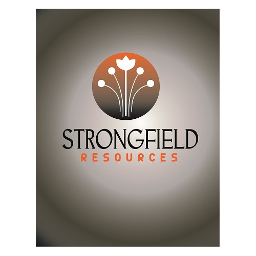 Bold, clean, crop-related design for StrongField Resources