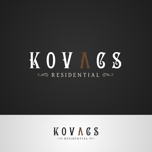 Help Kovacs Residential with a new logo