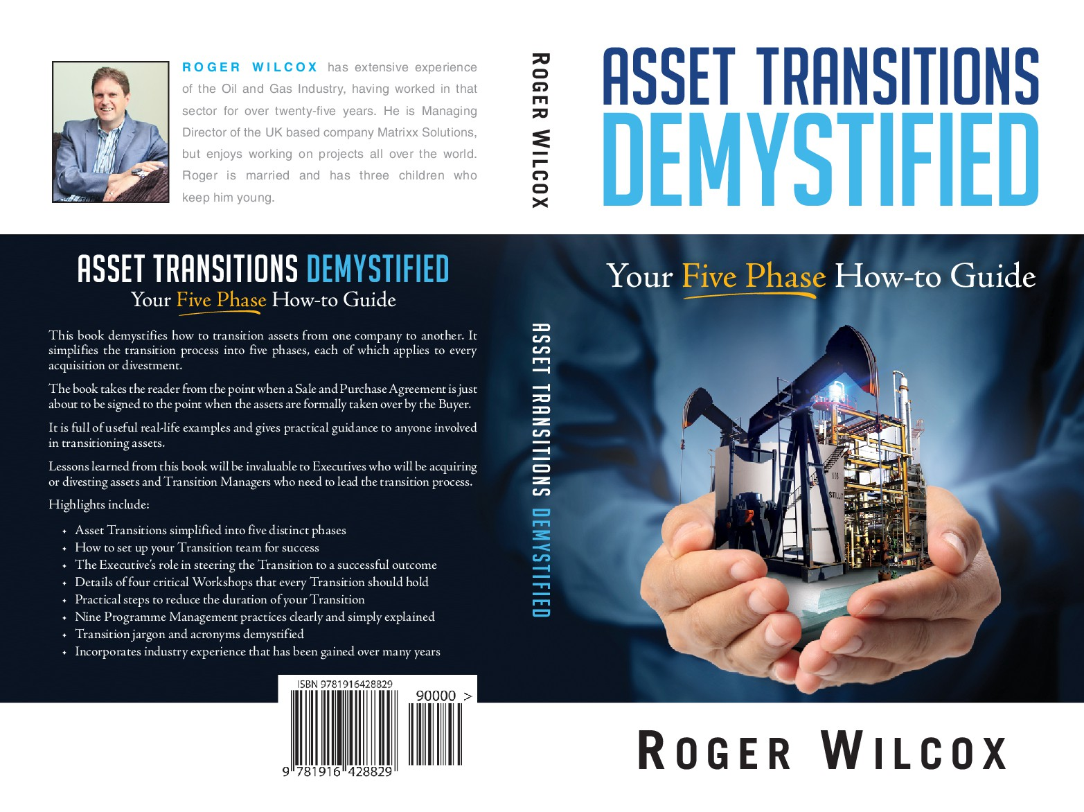 Create eye catching book covers for multi-million dollar transitions