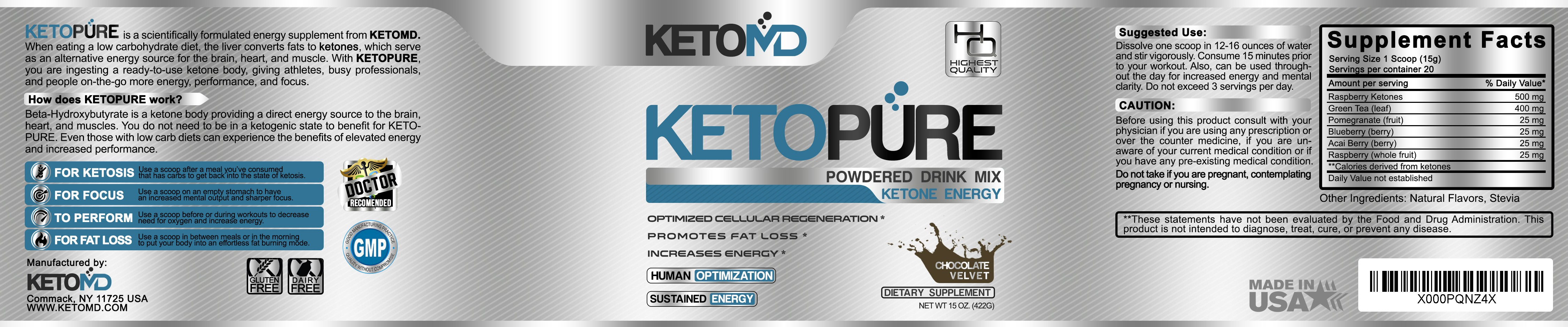 Create a Ketogenic Supplement logo and label design!!!