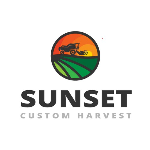 Logo for a custom combining services .