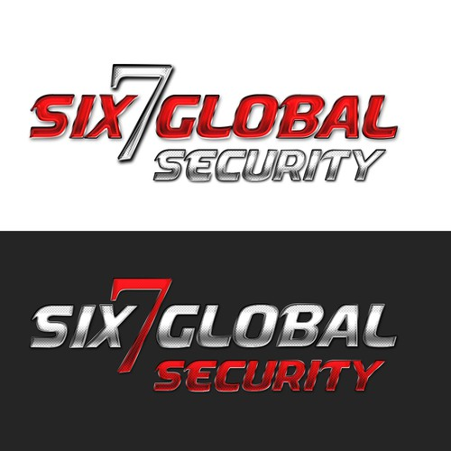 logo design for Six7 Global - a UK based security company