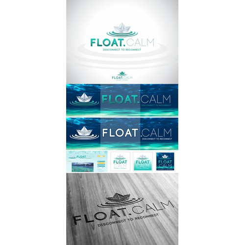 Create the next logo for Float.Calm