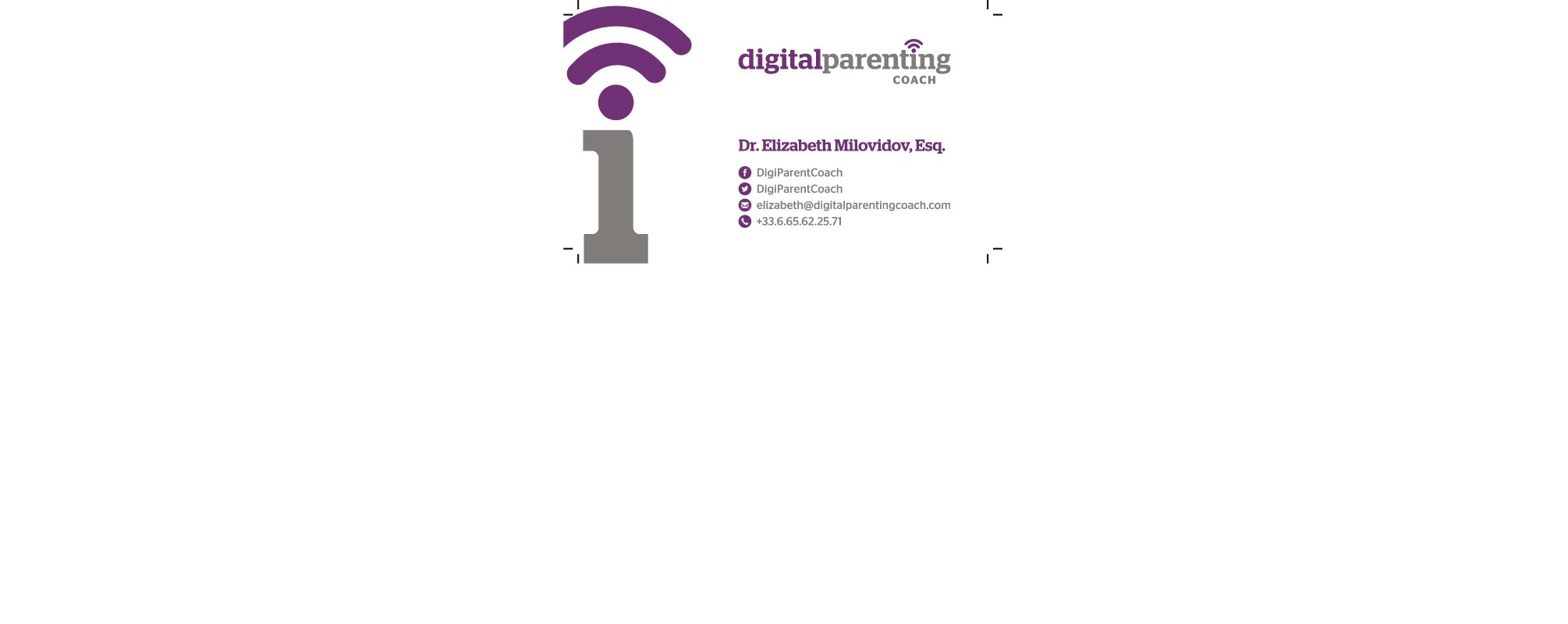 business card for DPC