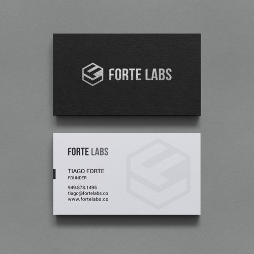 Business Card for a Consulting and Training Company